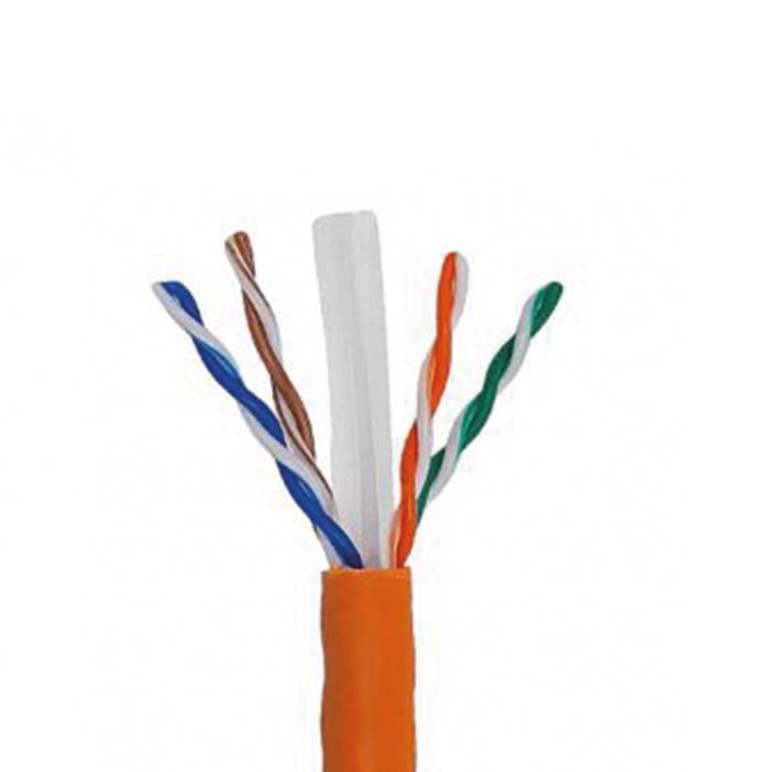 کابل شبکه CAT6 نگزنس نوع UTP با روکش LSZH