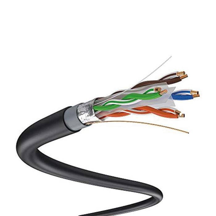 کابل شبکه نگزنس CAT6 نوع outdoor - SFTP